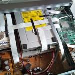 東芝 RD-XS38 のDVDドライブをパイオニア DVR-117J に換装