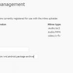 Androidアプリ(.apk)のアップロードを可能にするWordPressプラグイン『PJW Mime Config』