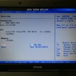 USBメモリからEPSON Endeavor Na01 miniを起動