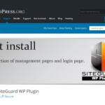 ログインページを変えずに SiteGuard WP Plugin を有効化する方法